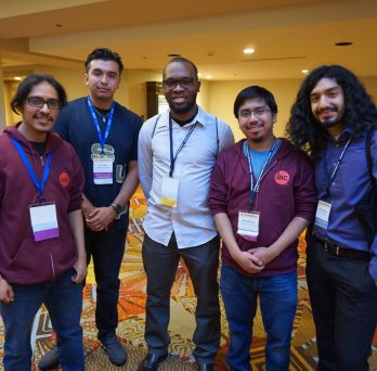 UIC Students at the Tapia conference