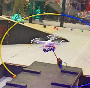 EDT's team Air robot