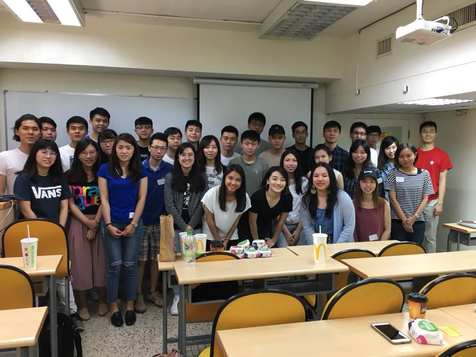 Meeting with future UIC students in Taiwan last summer