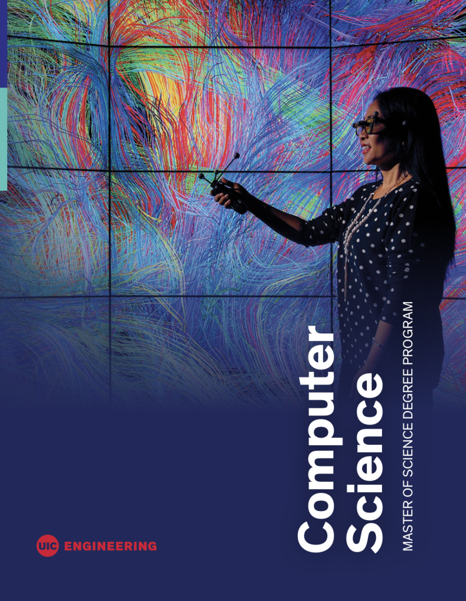 Cover of CS master of science booklet