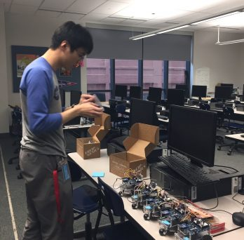 Chen readies robots at Jones Prep