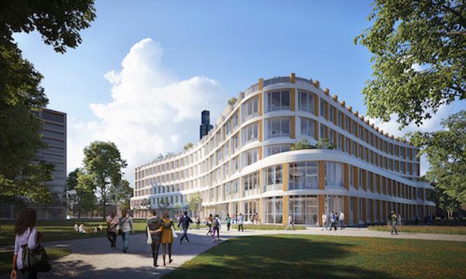 rendering of new CS building