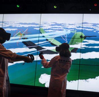 students enjoy the immersive Hummingbird experience